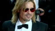 Brad Pitt returned to Cannes Tuesday as a humane hitman in 'Killing Them Softly' an anticapitalist gangster movie that delivers a damning indictment...