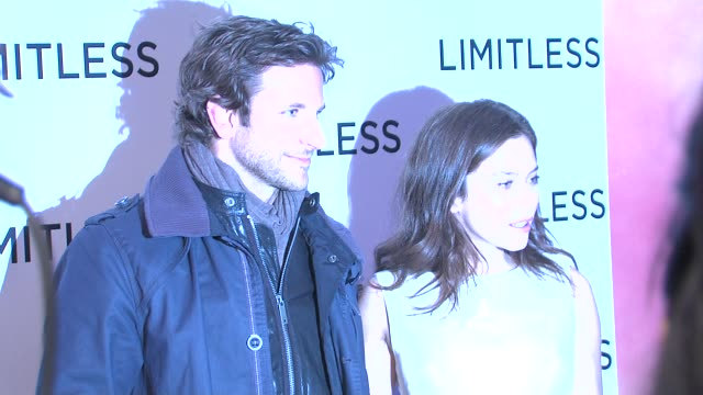Bradley Cooper and Anna Friel at the Limitless Special Screening at London England