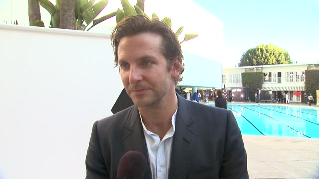 INTERVIEW Bradley Cooper on the film and on being in DC to show Silver Linings Playbook to members of the military at 85th Academy Awards Nominations...