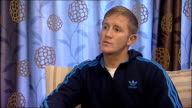Bradley Saunders interview Saunders interview SOT Relays how drugs were found in garden / Was taken to police station handcuffed / Has not been...