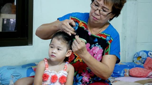Haarflechten Haarzopf