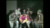 Brand Nubian interview before the release of the there debut album One for All at Club Kilimanjaro in NY
