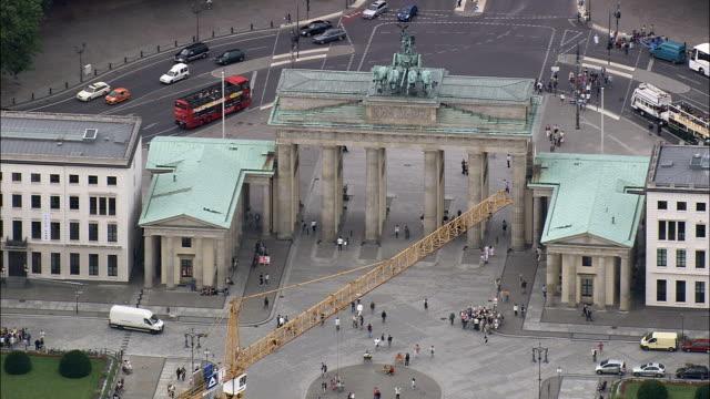 Brandenburg Gate  - Aerial View - Berlin,  Berlin,  Stadt,  Germany