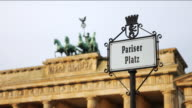 Brandenburg Gate, Berlin, early morning dolly, two shots