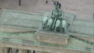 AERIAL ZO Brandenburg Gate, Berlin, Germany