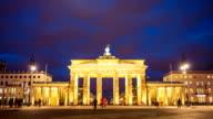 Brandenburg Gate, camera pan