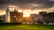 Brandenburg Gate Sunset, Berlin