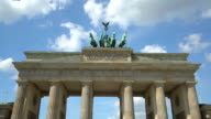Brandenburg Gate, time lapse