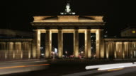 Brandenburg Gate Time lapse video