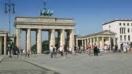 Brandenburger Tor (Brandenburg Gate)  on a Beautiful Sunny Day