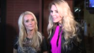 Brandi Glanville Kim Richards on Miley Cyrus Twerking at Fleming's in Los Angeles Celebrity Sightings in Los Angeles CA on 10/09/13