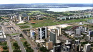Brasilia In General Views  - Aerial View - Federal District, Brasília, Brazil