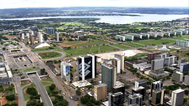 Brasilia In General Views  - Aerial View - Federal District, Brasília, Brazil