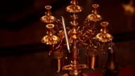 Kerzenhalter aus Messing
