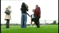England knocked out R18101312 / Enfield EXT Andros Townsend speaking to press Townsend speaking to press END LIB