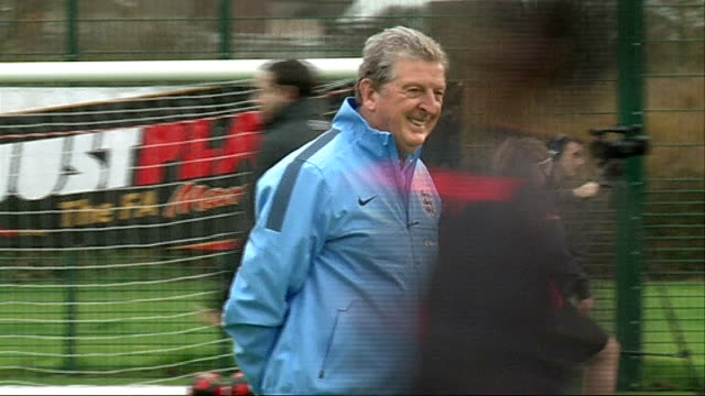 Roy Hodgson changes his mind over WAGs LIB / TX ENGLAND London Larkspur Rovers FC Roy Hodgson along