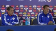 Brazil and Paraguay will both play to win in their Copa America quarter final match Saturday despite the great friendship between their coaches says...