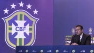 Brazil coach Dunga on Tuesday unveiled a squad shorn through injury of Chelsea's Oscar for the Copa America in Chile as the fivetimes world champions...