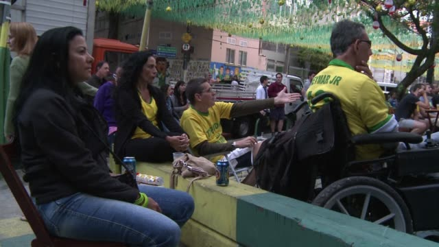 Brazil fans expressed disgust with their team after the hosts lost 30 to the Netherlands in Saturdays World Cup third place play off