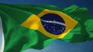 4K Brazil Flag - Loopable