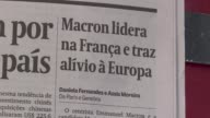 Brazil reacts to French vote as pro Europe maverick Emmanuel Macron and far right leader Marine Le Pen on Monday threw themselves into campaigning...