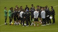 Brazil's national football team prepares for their South American qualifier against Ecuador for the 2018 World Cup