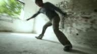 HD KONSTANTE: Breakdancer Performing Power-Moves