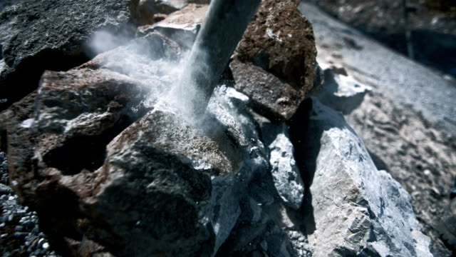 Breaking Up A Rock (Super Slow Motion)