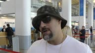 Real from Cypress Hill talks about if Donald Trump will ever admit to being wrong while departing at LAX Airport in Los Angeles in Celebrity...
