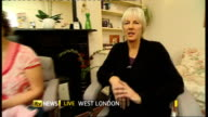 Breast feeding babies makes them more temperamental ENGLAND London GIR WAY interview from West London with Clare ByamCook and new mother Victoria...
