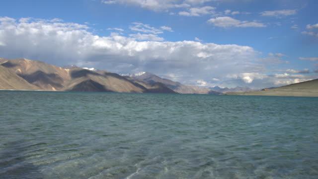 Breathtaking Himalayas landscapes around Pangong Lake, Ladakh, India