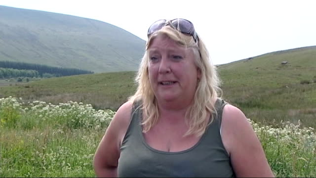 Brecon Beacons soldiers deaths one soldier named Denise Morris interview SOT Walkers along path