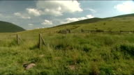 Brecon Beacons soldiers deaths one soldier named GV Open moorland and hills PAN Trees on hillside GV Hills
