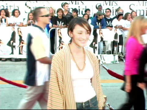 Bree Turner at the 'Mr and Mrs Smith' World Premiere at the Mann Village Theatre in Westwood California on June 7 2005