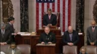 """""""Breed into the members of this House a new spirit"""" Father Patrick Conroy House Chaplain says in opening prayer calls for """"mutually respectful""""..."""
