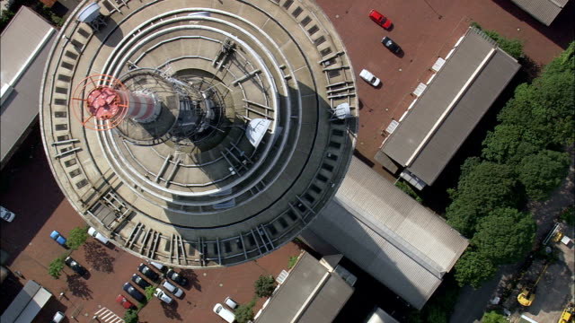 Bremen Communication Tower  - Aerial View - Bremen,  Germany