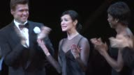 Brent Barrett Ashlee SimpsonWentzDeidre Goodwin Raymond Bokhour and Roz Ryan at the Ashlee SimpsonWentz Makes Her Broadway Debut In 'Chicago' at New...