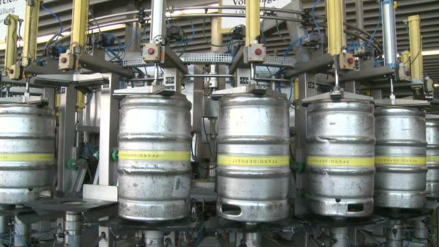 MS Brewery bottling plant in Warsteiner AG / Warstein, North Rhine Westphalia, Germany