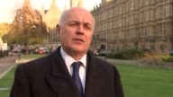 Article 50 hearing Iain Duncan Smith interview ENGLAND London EXT Iain Duncan Smith MP interview SOT