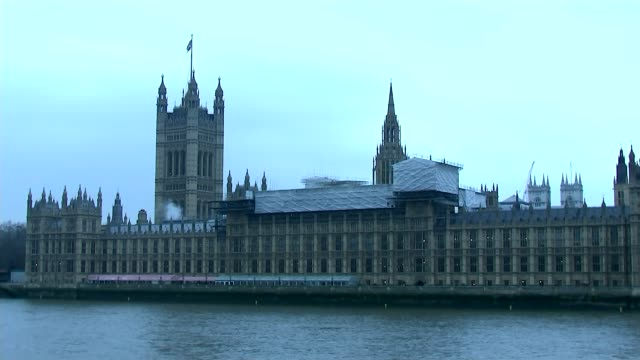 Brexit bill to go before House of Lords Brexit bill to go before House of Lords Westminster EXT Smoke rising from building work outside Houses of...