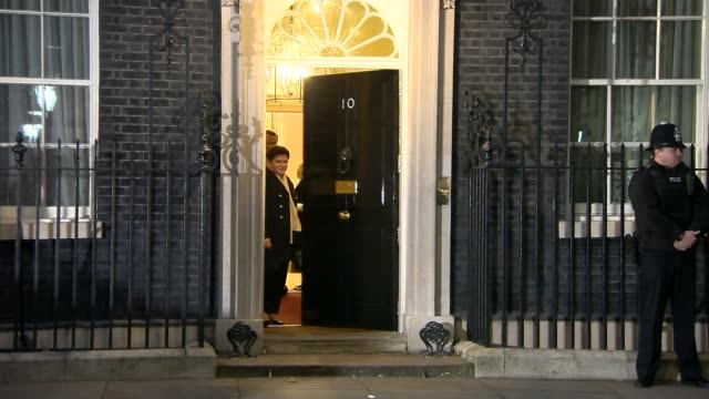 Brexit could face new legal challenge Downing Street PHOTOGRAPHY** Beata Szydlo and others leaving Number 10