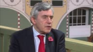Gordon Brown interview ENGLAND London Westminster INT Gordon Brown interview SOT re Brexit High Court decision on Article 50