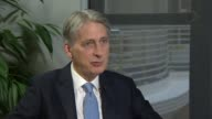 'Government agreement to seek transitional deal' says Philip Hammond ENGLAND London INT Philip Hammond MP interview SOT I think what the British...