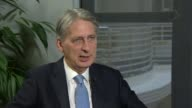 'Government agreement to seek transitional deal' says Philip Hammond London Philip Hammond MP interview SOT Have to avoid disruptive cliff edges for...