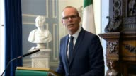 Government says there will be no need for Irish border checkpoints REPUBLIC Simon Coveney press conference SOT There are still significant questions...