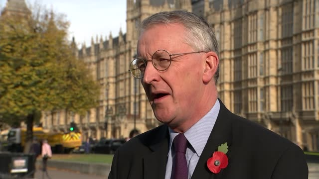 High Court rules that government needs parliamentary approval to trigger Article 50 London EXT Hilary Benn MP interview SOT We do have to accept the...