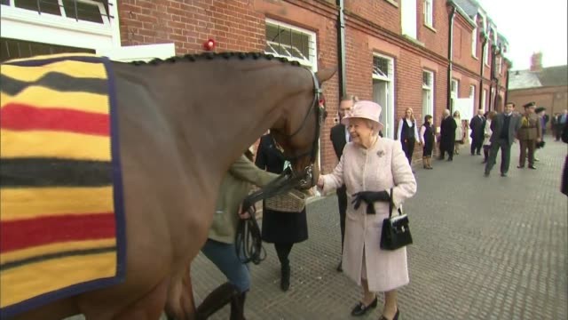 High Court rules that government needs parliamentary approval to trigger Article 50 ENGLAND Suffolk Newmarket EXT Queen Elizabeth inspecting...