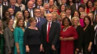 MPs to vote on EU Withdrawal Bill 2862017 PHOTOGRAPHY**** House of Commons INT Jeremy Corbyn MP Tom Watson MP Emily Thornberry MP Diane Abbott MP and...