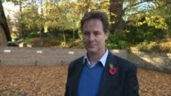 Nick Clegg interview ENGLAND Yorkshire Sheffield EXT Nick Clegg MP along and interview SOT re High Court decision to give Parliament powers over...