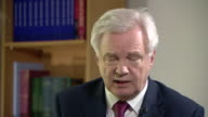 Brexit Secretary David Davis explaining why Theresa May changed her mind and called for a snap general election
